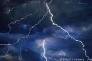 Dreaming of thunder Dream of thunderstorm